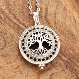 aromatični obesek drevo življenja medaljon dišeči