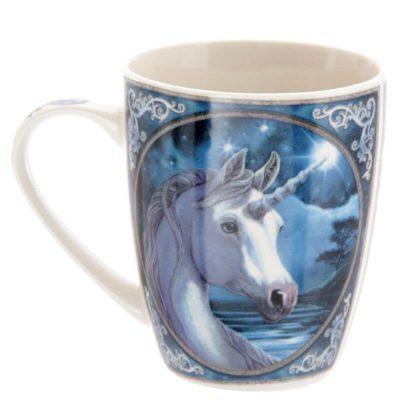 skodelica samorog unicorn Lisa Parker Design