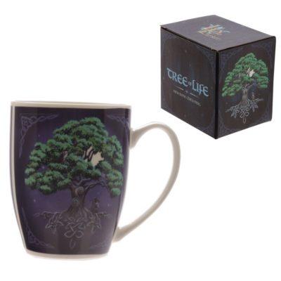skodelica v darilni škatli drevo Lisa Parker Design