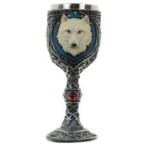 Kozarec Beli volk čaša