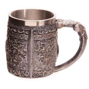 viteška skodelica lobanja