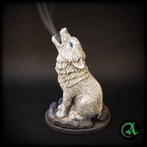 Volk dekorativno stojalo za dišeče stožce