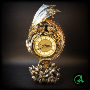 steampunk ura zmaj