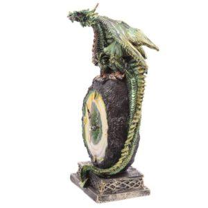 stoječa ura zeleni zmaj