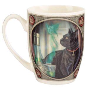 Črna mačka šalica