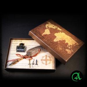 Kaligrafsko pero v darilni embalaži