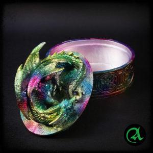 Skrinjica za nakit Zmaj