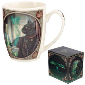 Darilna skodelica maček in absint