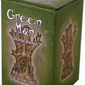 Drevo stojalo za dišeče stožce v škatli