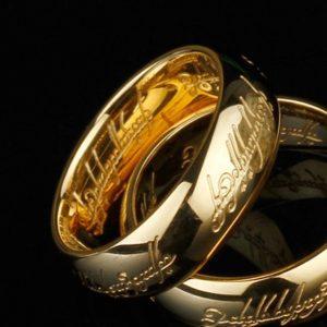 Prstan MOGOTE nerjaveče jeklo Gospodar prstanov