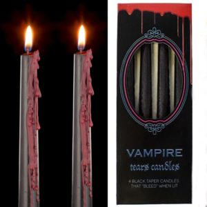 Vampirske sveče črno-redeče