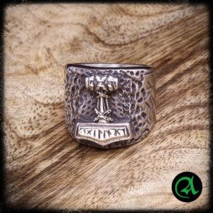 prstan nordijski kladivo thor