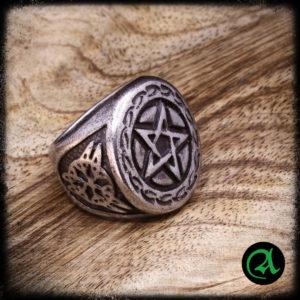 pečatni prstan pentagram