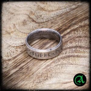 nordijske rune prstan