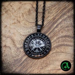 VEGVISIR vikinški simbol obesek