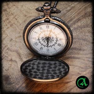 žepna ura pentagram