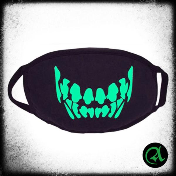 Maska svetleča v temi