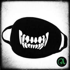 Maska VOLČJI NASMEH