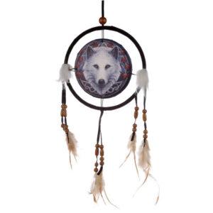 beli volk čuvaj jeseni lovilec sanj