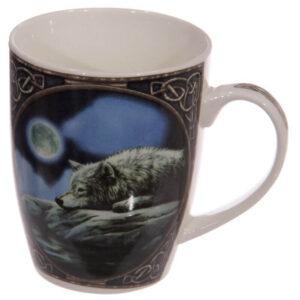 Skodelica volk in luna