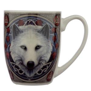 skodelica volk čuvaj jeseni