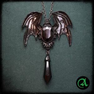 črna vampirska ogrlica