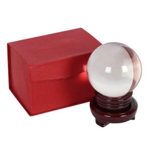 kristalna krogla v škatli