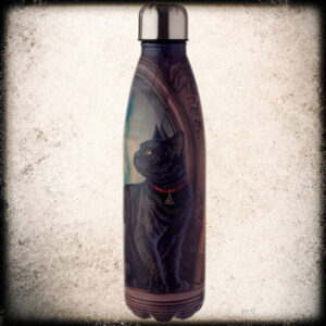 jeklena steklenica mačka