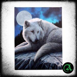 slika na platnu volk